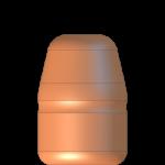 CMJ .38-357 125gr Flat Point