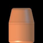 CMJ .40 Cal 160gr Flat Point