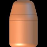 CMJ .40 Cal 200gr Flat Point