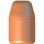 CMJ .40 Cal 200gr Round Nose Flat Point