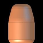 CMJ .40 Cal 180gr Flat Point Match