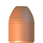 CMJ .40 Cal 165gr Round Nose Flat Point
