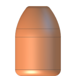 CMJ .40 Cal 180gr Round Nose Flat Point