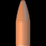 CMJ .22 Cal 55gr Flat Point Flat Base