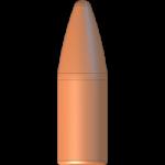 CMJ .22 Cal 62gr Flat Point Flat Base