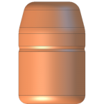 CMJ .44 Cal 245gr Flat Point