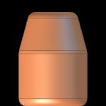 CMJ .44 Cal 200gr Flat Point