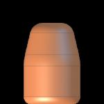 CMJ 9mmP 121gr Flat Point Match