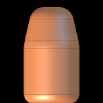 CMJ 9mmP 147gr Flat Point