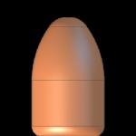 CMJ 9mmP 124gr Round Nose
