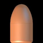 CMJ 9mmP 130gr Round Nose