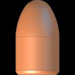 CMJ 9mmP 147gr Round Nose